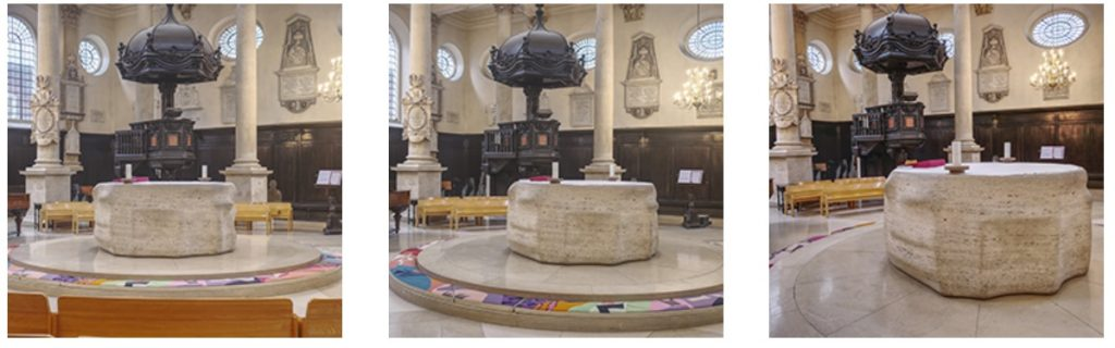 Altar and Pulpit
